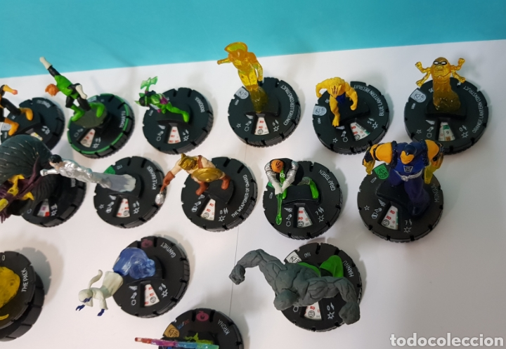 Juegos Antiguos: LOTE 17 HEROCLIX - DC COMICS - LA GUERRA DE LA LUZ - WAR OF LIGHT / 2 ORO SUPER RAROS, 2 PLATA RAROS - Foto 10 - 222081068