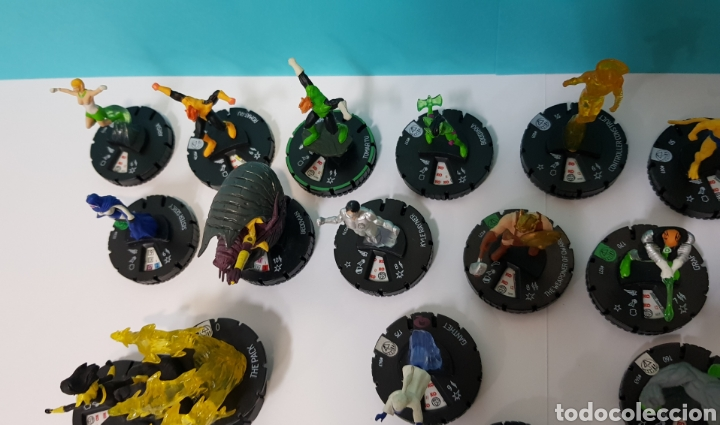 Juegos Antiguos: LOTE 17 HEROCLIX - DC COMICS - LA GUERRA DE LA LUZ - WAR OF LIGHT / 2 ORO SUPER RAROS, 2 PLATA RAROS - Foto 11 - 222081068