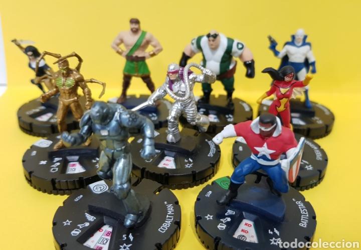 Juegos Antiguos: LOTE 9 HEROCLIX CIVIL WAR - MARVEL 2014 - Foto 3 - 222091027
