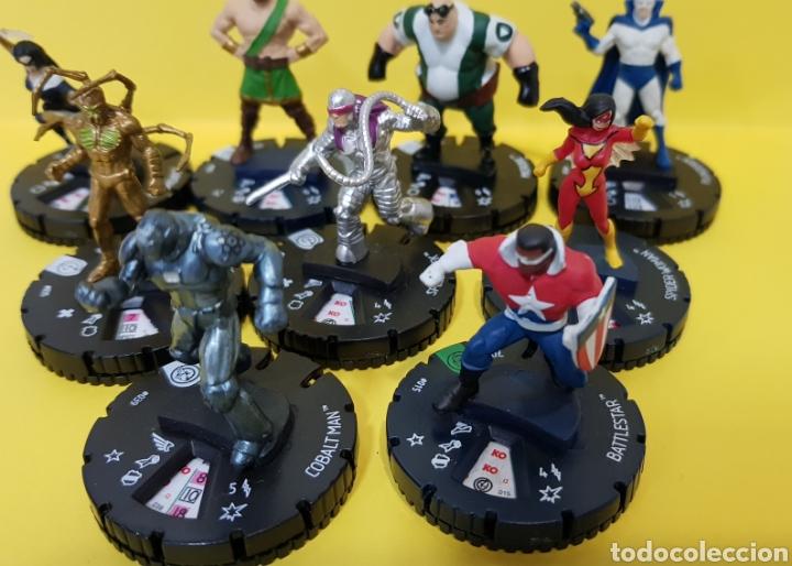 Juegos Antiguos: LOTE 9 HEROCLIX CIVIL WAR - MARVEL 2014 - Foto 6 - 222091027