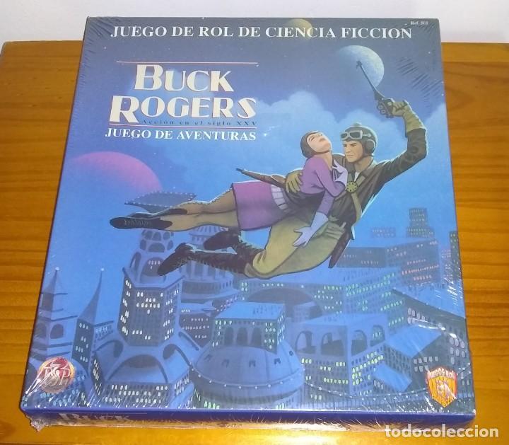 BUCK ROGERS ACCIÓN EN EL SIGLO XXV JUEGO DE ROL DE CIENCIA FICCIÓN TSR ZINCO PRECINTADO (Juguetes - Rol y Estrategia - Juegos de Rol)