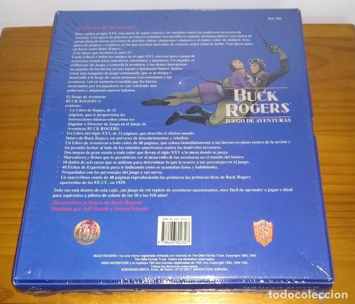 Juegos Antiguos: BUCK ROGERS ACCIÓN EN EL SIGLO XXV JUEGO DE ROL DE CIENCIA FICCIÓN TSR ZINCO PRECINTADO - Foto 2 - 222093481