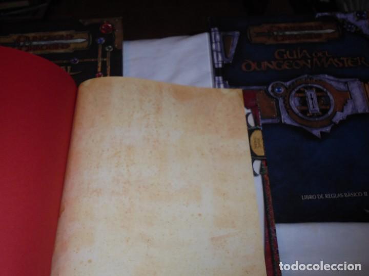 Juegos Antiguos: DUNGEONS & DRAGONS 3 TOMOS DE LIBRO DE REGLAS 1,2,Y 3.MANUAL DEL JUGADOR,MANUAL DE MONSTRUOS,GUIA DE - Foto 4 - 222249451