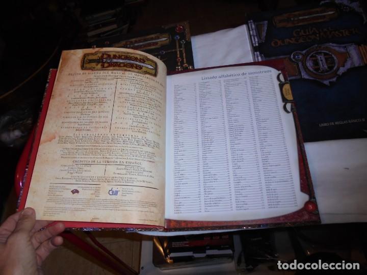 Juegos Antiguos: DUNGEONS & DRAGONS 3 TOMOS DE LIBRO DE REGLAS 1,2,Y 3.MANUAL DEL JUGADOR,MANUAL DE MONSTRUOS,GUIA DE - Foto 5 - 222249451