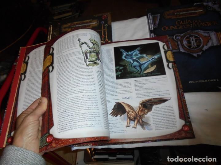 Juegos Antiguos: DUNGEONS & DRAGONS 3 TOMOS DE LIBRO DE REGLAS 1,2,Y 3.MANUAL DEL JUGADOR,MANUAL DE MONSTRUOS,GUIA DE - Foto 9 - 222249451