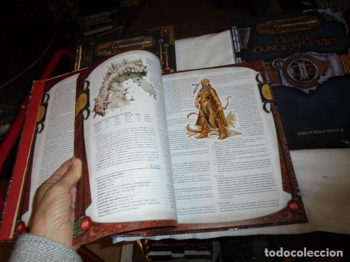 Juegos Antiguos: DUNGEONS & DRAGONS 3 TOMOS DE LIBRO DE REGLAS 1,2,Y 3.MANUAL DEL JUGADOR,MANUAL DE MONSTRUOS,GUIA DE - Foto 10 - 222249451