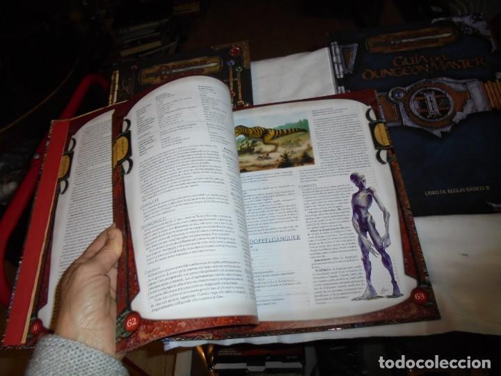 Juegos Antiguos: DUNGEONS & DRAGONS 3 TOMOS DE LIBRO DE REGLAS 1,2,Y 3.MANUAL DEL JUGADOR,MANUAL DE MONSTRUOS,GUIA DE - Foto 11 - 222249451