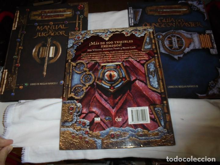Juegos Antiguos: DUNGEONS & DRAGONS 3 TOMOS DE LIBRO DE REGLAS 1,2,Y 3.MANUAL DEL JUGADOR,MANUAL DE MONSTRUOS,GUIA DE - Foto 13 - 222249451