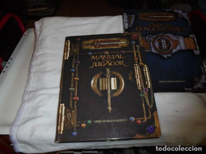 Juegos Antiguos: DUNGEONS & DRAGONS 3 TOMOS DE LIBRO DE REGLAS 1,2,Y 3.MANUAL DEL JUGADOR,MANUAL DE MONSTRUOS,GUIA DE - Foto 14 - 222249451