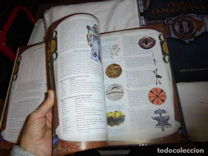 Juegos Antiguos: DUNGEONS & DRAGONS 3 TOMOS DE LIBRO DE REGLAS 1,2,Y 3.MANUAL DEL JUGADOR,MANUAL DE MONSTRUOS,GUIA DE - Foto 25 - 222249451
