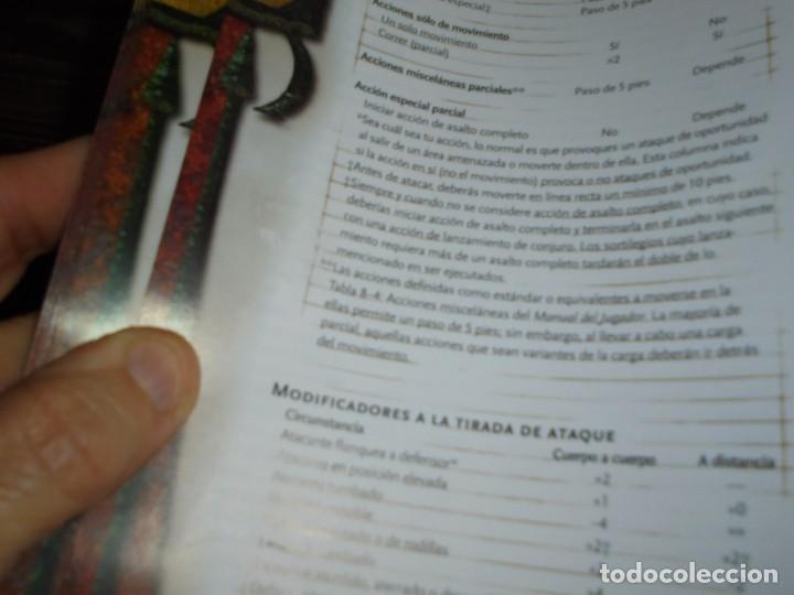 Juegos Antiguos: DUNGEONS & DRAGONS 3 TOMOS DE LIBRO DE REGLAS 1,2,Y 3.MANUAL DEL JUGADOR,MANUAL DE MONSTRUOS,GUIA DE - Foto 49 - 222249451