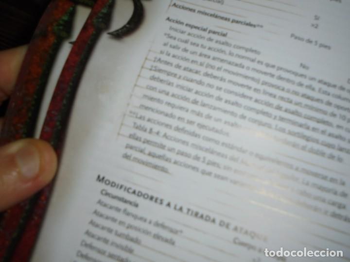 Juegos Antiguos: DUNGEONS & DRAGONS 3 TOMOS DE LIBRO DE REGLAS 1,2,Y 3.MANUAL DEL JUGADOR,MANUAL DE MONSTRUOS,GUIA DE - Foto 50 - 222249451