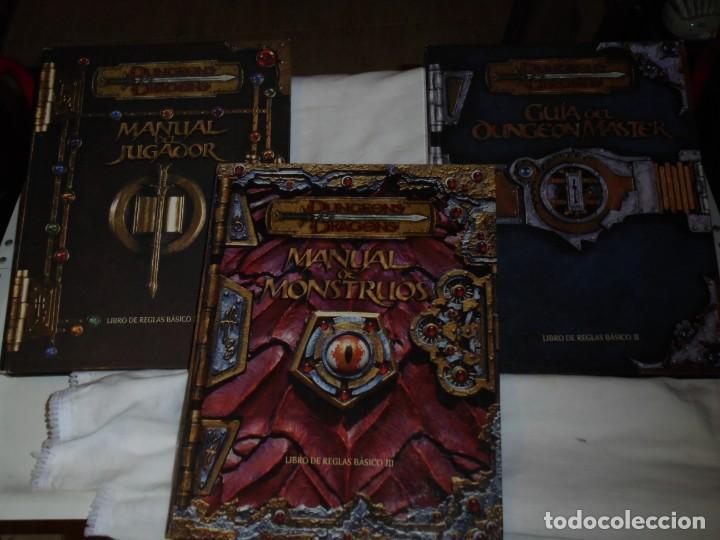 Juegos Antiguos: DUNGEONS & DRAGONS 3 TOMOS DE LIBRO DE REGLAS 1,2,Y 3.MANUAL DEL JUGADOR,MANUAL DE MONSTRUOS,GUIA DE - Foto 59 - 222249451