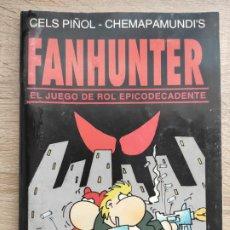 Juegos Antiguos: FANHUNTER - EL JUEGO DE ROL EPICODECADENTE (FARSAS WAGON PARA GUSA COMICS). Lote 222312796