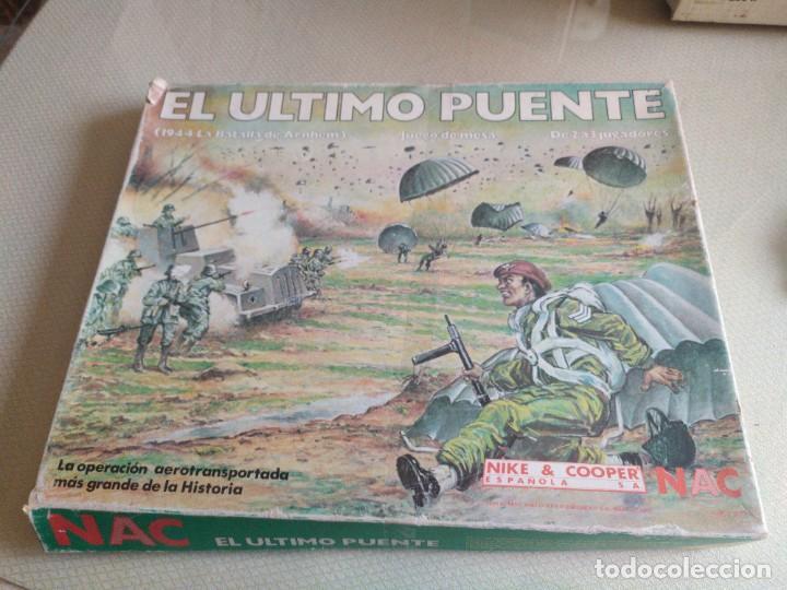 JUEGO COMPLETO NAC EL ULTIMO PUENTE SERIE WARGAMES MIREN FOTOS (Juguetes - Rol y Estrategia - Otros)