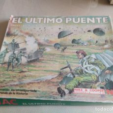 Juegos Antiguos: JUEGO COMPLETO NAC EL ULTIMO PUENTE SERIE WARGAMES MIREN FOTOS. Lote 222321165