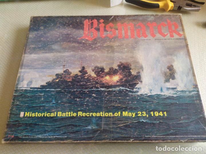 JUEGO DE ESTRATEGIA BISMARCK RECRECION DE LA BATALLA DEL 23 DE MAYO DE 1941 MIREN FOTOS (Juguetes - Rol y Estrategia - Otros)