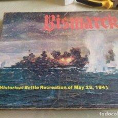 Juegos Antiguos: JUEGO DE ESTRATEGIA BISMARCK RECRECION DE LA BATALLA DEL 23 DE MAYO DE 1941 MIREN FOTOS. Lote 222323122