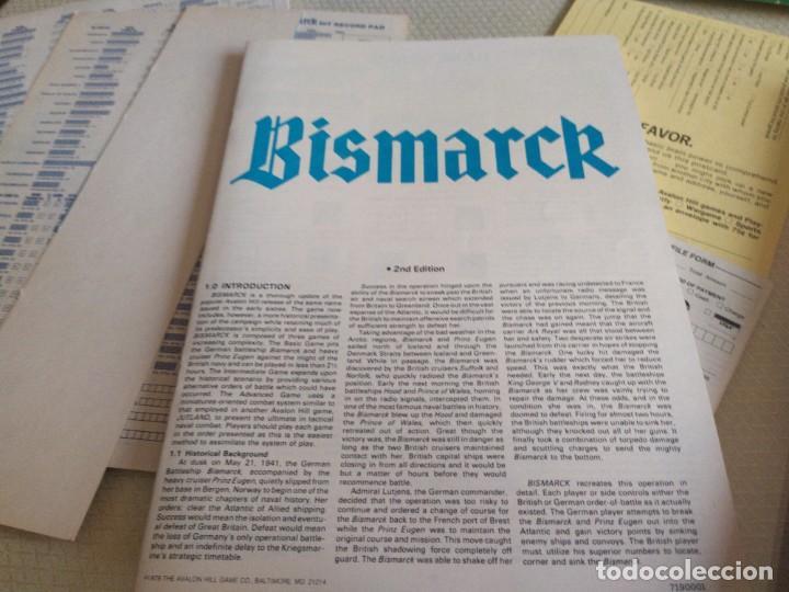 Juegos Antiguos: JUEGO DE ESTRATEGIA BISMARCK RECRECION DE LA BATALLA DEL 23 DE MAYO DE 1941 MIREN FOTOS - Foto 9 - 222323122