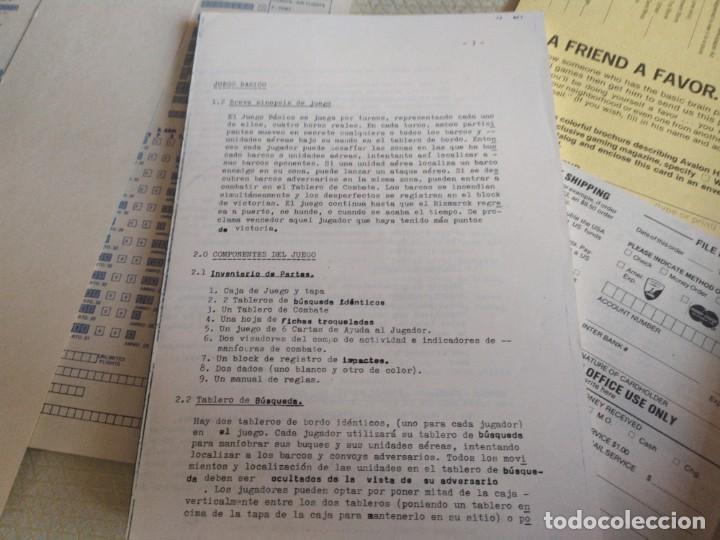 Juegos Antiguos: JUEGO DE ESTRATEGIA BISMARCK RECRECION DE LA BATALLA DEL 23 DE MAYO DE 1941 MIREN FOTOS - Foto 10 - 222323122