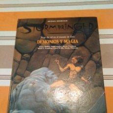 Juegos Antiguos: DEMONIOS Y MAGIA - STORMBRINGER - JUEGO DE ROL - ELRIC. Lote 222490556