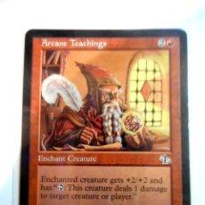 Juegos Antiguos: CARTA MAGIC ARCANE TEACHINGS ( JUICIO EN INGLÉS ) MONTAÑA. Lote 222503236