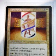 Juegos Antiguos: CARTA MAGIC CIRCLE OF SOLACE ( EMBESTIDA EN INGLÉS ) LLANURA. Lote 222529295