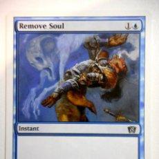 Juegos Antiguos: CARTA MAGIC REMOVE SOUL ( OCTAVA EDICIÓN EN INGLÉS ) ISLA. Lote 222533842