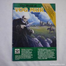 Juegos Antiguos: THE WORLD OF VOG MUR - PART OF THE ROLEMASTER SERIES - FANTASY ROLE PLAYING GAME - I.C.E. USA - 1984. Lote 222697555