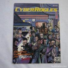Juegos Antiguos: CYBER ROGUES - I.C.E. MADE IN USA - EN INGLES - 1990 - 1.ª EDICION. Lote 222699003