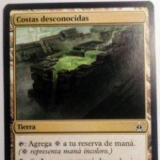 Juegos Antiguos: CARTA 181 COSTAS DESCONOCIDAS MAGIC THE GATHERING WIZARDS ILUSTRA JUNG PARK. Lote 222711382