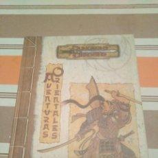 Juegos Antiguos: AVENTURAS ORIENTALES - DUNGEONS 3.5 JUEGO DE ROL ROKUGAN LEYENDA 5 ANILLOS. Lote 224173836