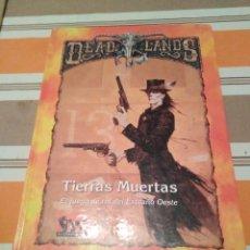 Juegos Antiguos: DEADLANDS - JUEGO DE ROL - DEAD LANDS TIERRA MUERTAS. Lote 224391031