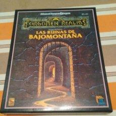 Jeux Anciens: RUNIAS DE BAJOMONTAÑA - DUNGEONS AND DRAGONS - JUEGO DE ROL. Lote 224399620