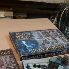 Juegos Antiguos: EL SEÑOR DE LOS ANILLOS MINAS DE MORIA - JUEGO ROL Y ESTRATEGIA - GAMES WORKSHOP. Lote 224716831