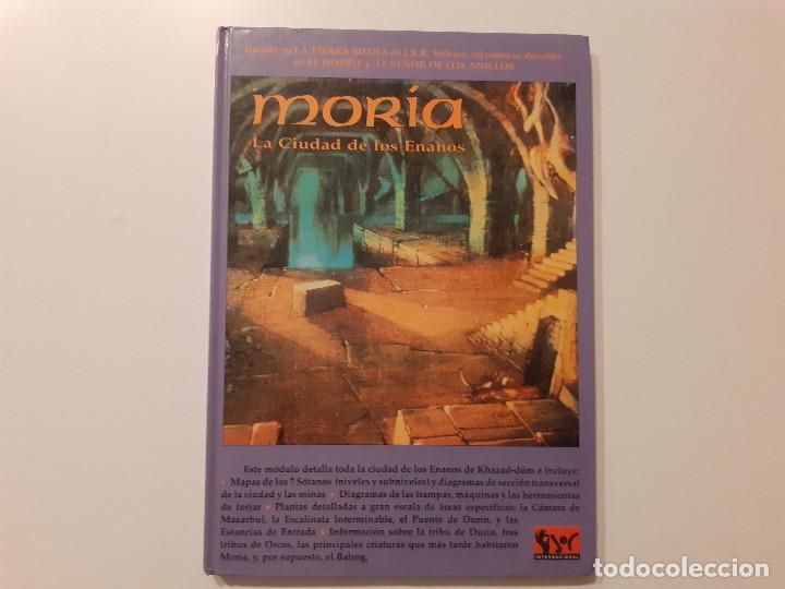 Juegos Antiguos: LOTE ESDLA - GORGOROTH - MORIA CIUDAD ENANOS - BOSQUE NEGRO TIERRAS SALVAJES - GUÍA - MAPAS Y MÁS - Foto 8 - 214579472