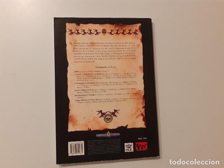 Juegos Antiguos: LOTE ESDLA - GORGOROTH - MORIA CIUDAD ENANOS - BOSQUE NEGRO TIERRAS SALVAJES - GUÍA - MAPAS Y MÁS - Foto 13 - 214579472
