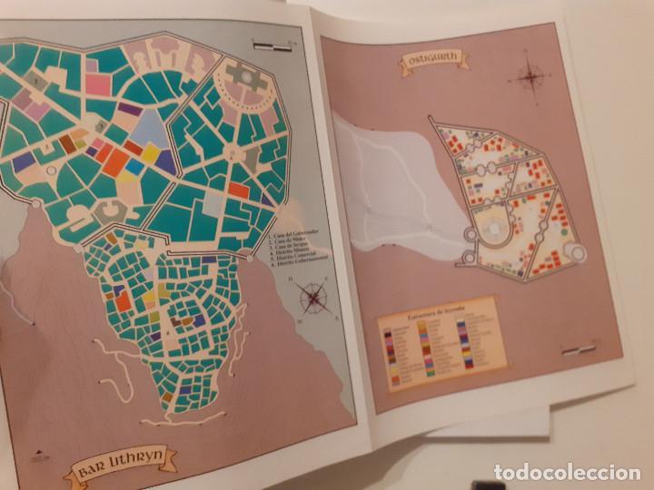 Juegos Antiguos: LOTE ESDLA - GORGOROTH - MORIA CIUDAD ENANOS - BOSQUE NEGRO TIERRAS SALVAJES - GUÍA - MAPAS Y MÁS - Foto 14 - 214579472
