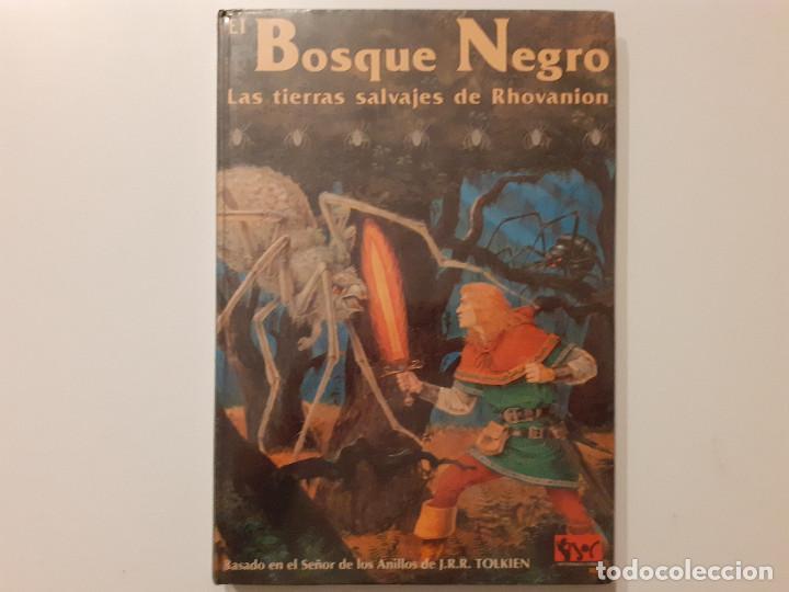 Juegos Antiguos: LOTE ESDLA - GORGOROTH - MORIA CIUDAD ENANOS - BOSQUE NEGRO TIERRAS SALVAJES - GUÍA - MAPAS Y MÁS - Foto 21 - 214579472