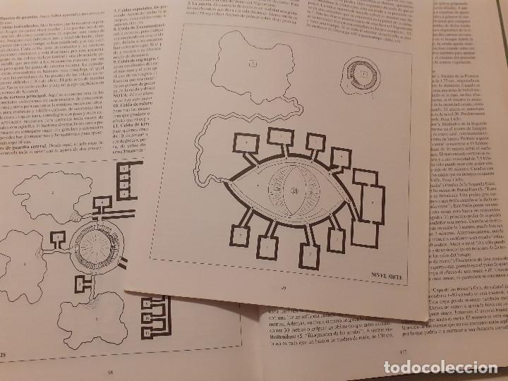 Juegos Antiguos: LOTE ESDLA - GORGOROTH - MORIA CIUDAD ENANOS - BOSQUE NEGRO TIERRAS SALVAJES - GUÍA - MAPAS Y MÁS - Foto 24 - 214579472