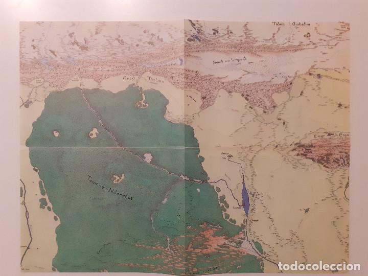 Juegos Antiguos: LOTE ESDLA - GORGOROTH - MORIA CIUDAD ENANOS - BOSQUE NEGRO TIERRAS SALVAJES - GUÍA - MAPAS Y MÁS - Foto 25 - 214579472
