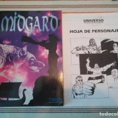 Juegos Antiguos: MIDGARD - JUEGO DE ROL. Lote 224989968
