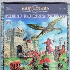 Juegos Antiguos: 8820 ZVEZDA 28MM. JUEGO COMPLETO. RING OF RULE, SIEGE OF THE ROYAL FORTRESS.. Lote 225204060