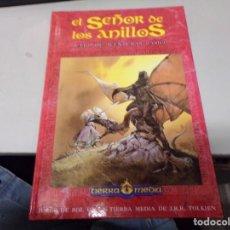 Juegos Antiguos: EL SEÑOR DE LOS ANILLOS - TIERRA MEDIA - JUEGO DE AVENTURAS BÁSICO. Lote 225509801