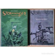 Juegos Antiguos: STORMBRINGER / JUEGO DE ROL EN EL MUNDO DE ELRIC / JOC INTERNACIONAL RPG 90 - 91 (MICHAEL MOORCOCK). Lote 225762640