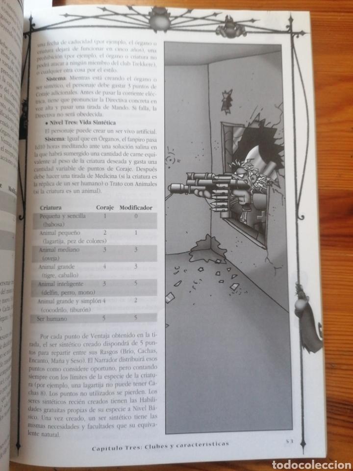 Juegos Antiguos: Fanpiro. Juego de rol narrativo y punkdeprimente. La Factoria. Madrid, 2001. 1a ed. - Foto 4 - 225971911