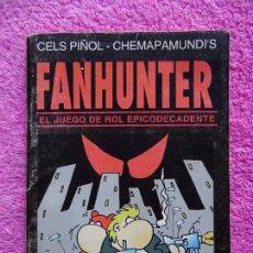 Juegos Antiguos: FANHUNTER EL JUEGO DE ROL EPICODECADENTE EDITORIAL GUSA COMICS 1993 CELS PIÑOL CHEMA PAMUNDI. Lote 226293605