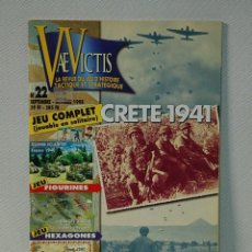 Juegos Antiguos: VAE VICTIS. LA REVUE DU JEU D'HISTOIRE TACTIQUE ET STRATEGIQUE. Nª 22. SEP-OCT. 1998. Lote 226336530