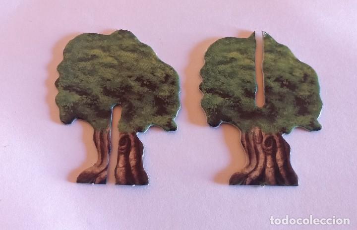 DUNGEONS DRAGONS FICHA OBJETO ARBOL TREE ITEM TOKEN DRAGONES MAZMORRAS PARKER JUEGO MESA ROL (Juguetes - Rol y Estrategia - Juegos de Rol)