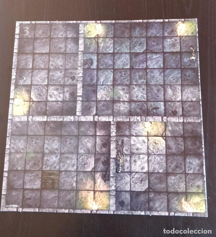 DUNGEONS DRAGONS TABLERO DOBLE 3-4 DOUBLE GAMEBOARD DRAGONES MAZMORRAS PARKER JUEGO MESA ROL (Juguetes - Rol y Estrategia - Juegos de Rol)